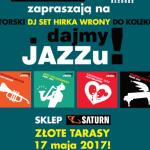 Dajmy Jazzu! Wyjątkowy DJ Set Hirka Wrony w Saturn Złote Tarasy