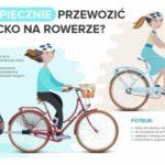 Jak bezpiecznie przewozić dziecko na rowerze? [infografika]