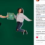 Natalia Szroeder skacze charytatywnie na Instagramie